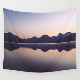 Sunrise over Glacier Wall Tapestry