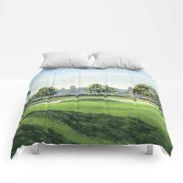 Winged Foot Golf Course New York Comforters