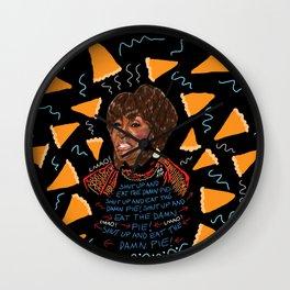 Patti Said Eat The Damn Pie  Wall Clock