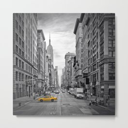 NEW YORK CITY Fifth Avenue Metal Print