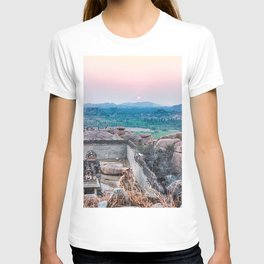 Sunset in the Lost World T-shirt