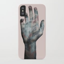 Raise your hand iPhone Case