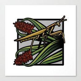 Flora & Fauna III Canvas Print