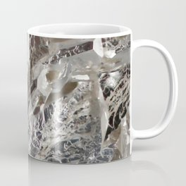 Silver Crystal First Coffee Mug
