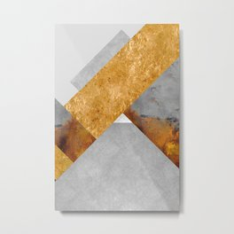 Modern Mountain No6-P3 Metal Print
