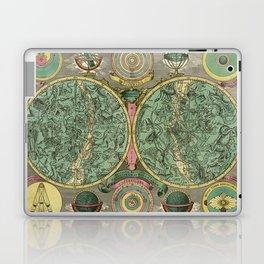 Vintage Astronomy Chart 1772 Laptop & iPad Skin