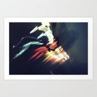 Light Structures//4 Art Print