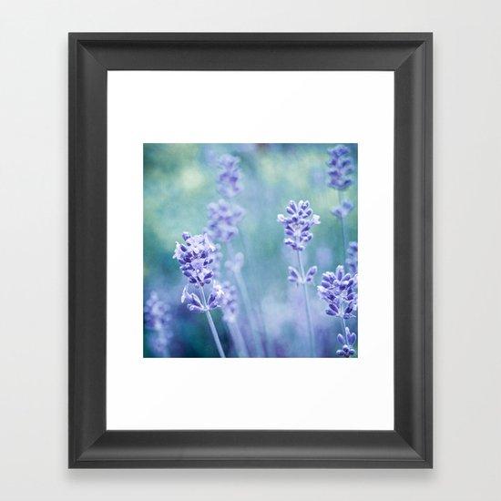 lavendula Framed Art Print