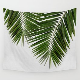 Palm Leaf II Wall Tapestry