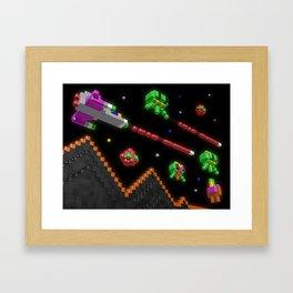 Inside Defender Framed Art Print