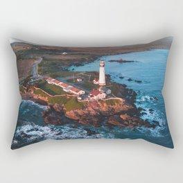 Pigeon Point Lighthouse, California Rectangular Pillow