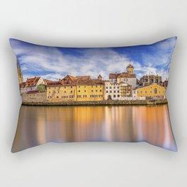Panoramic Regensburg | Germany Rectangular Pillow