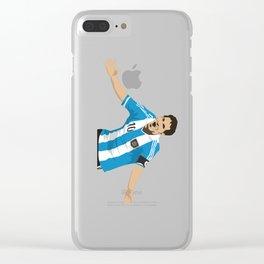 Leo Messi Clear iPhone Case