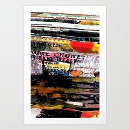 Journal  Art Print