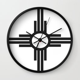rotes auge Wall Clock