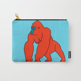 The Orange Gorilla Carry-All Pouch