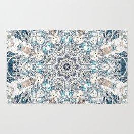 Neutral Soft Palette Tone Bohemian Mandala Rug