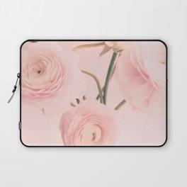 Pink Nursery Ranunculus III Laptop Sleeve