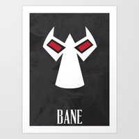 bane Art Prints featuring Bane by Gari Smith
