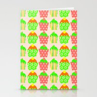 cupcakes Stationery Cards featuring Cupcakes by Ingrid Castile