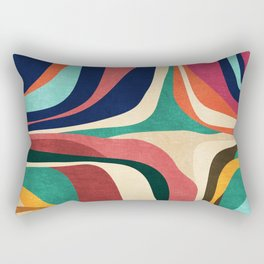 Impossible contour map Rectangular Pillow