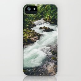 Vintgar Gorge, 2 iPhone Case