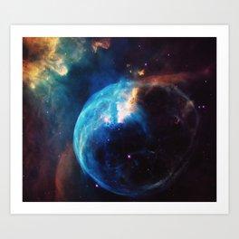 Nebula & Galaxies Art Print