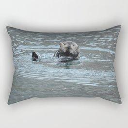 Sea Otter Fellow Rectangular Pillow
