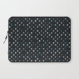 LOTS OF DOTS / black / linen beige / light blue / rose beige Laptop Sleeve