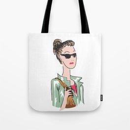 Parisian Beauty Tote Bag