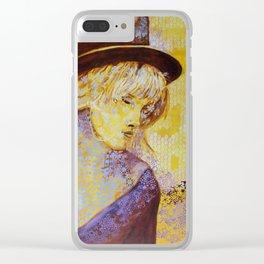 Festival Girl Clear iPhone Case