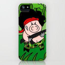 Hambo! iPhone Case