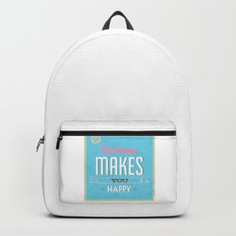Ice Cream makes you Happy Backpack