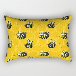 Bumble Bees Rectangular Pillow