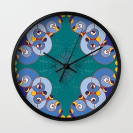 Ibu Agana Pathways Wall Clock