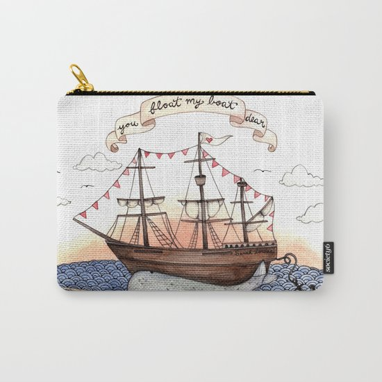 Float My Boat Carry-All Pouch