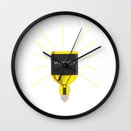 Whiskey Idea Wall Clock