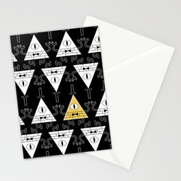 Bill Cipher - Gravity Falls Stationery Cards