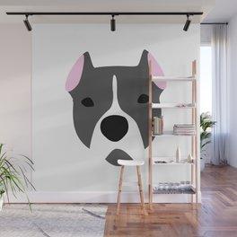 My dog, Gia Wall Mural