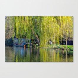 Canal Walk. Canvas Print