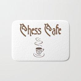 Chess Cafe Bath Mat