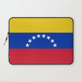 flag of venezuela Laptop Sleeve