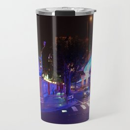 Night Time in Shanghai Travel Mug