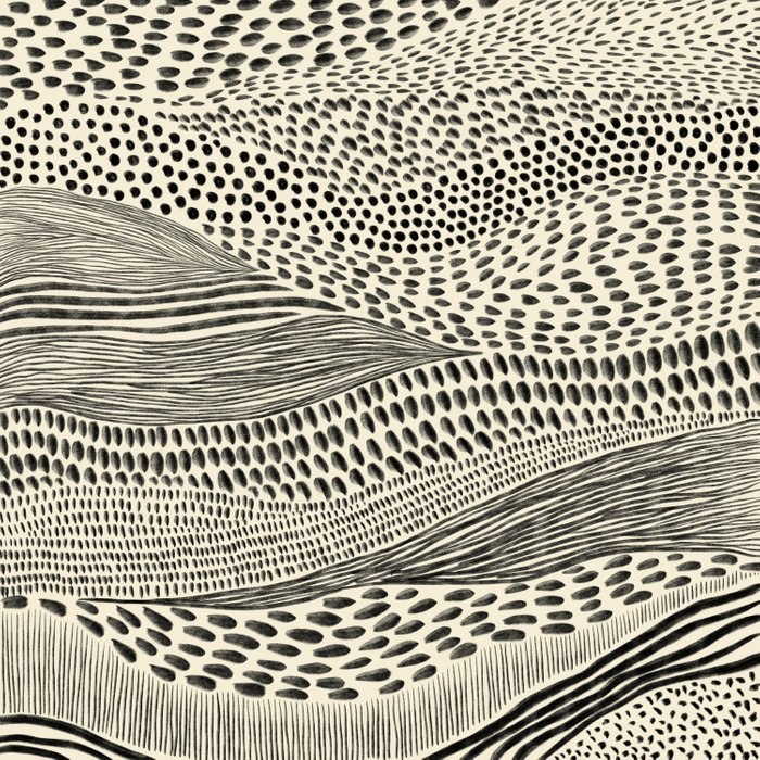 Hand Drawn Patterned Abstract II Comforters