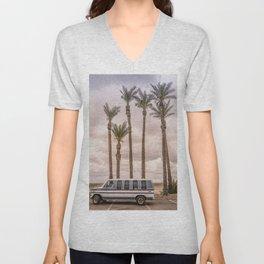 Econoline Palm Parking Unisex V-Neck