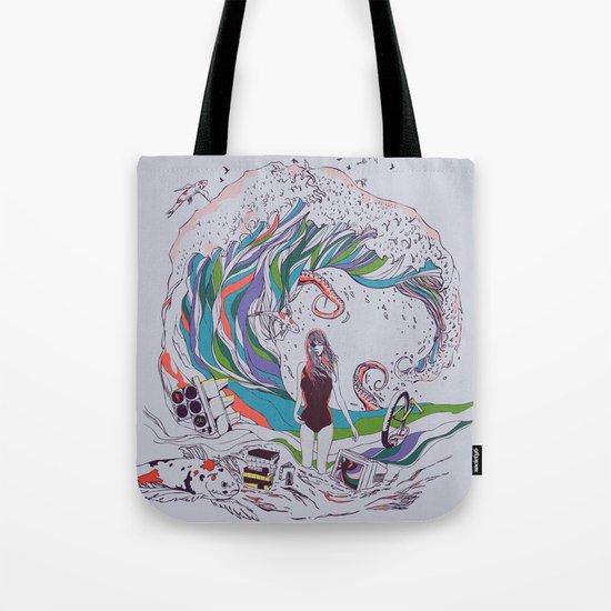 Ocean Myths Tote Bag