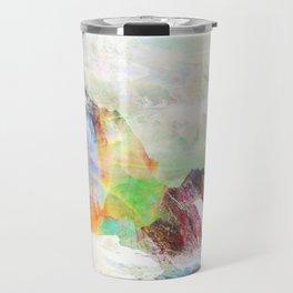 Glitch Mountain Travel Mug