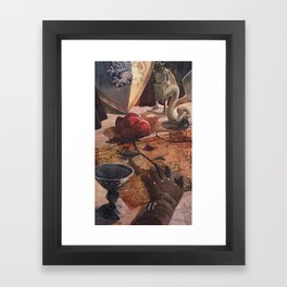 Alistair's Rose Framed Art Print