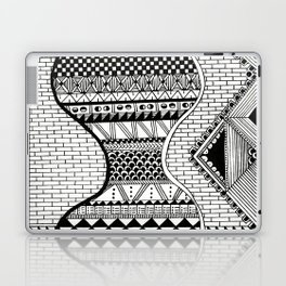 Wavy Geometric Patterns Laptop & iPad Skin