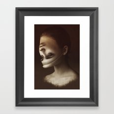 Forgiveness And Apathy Framed Art Print